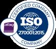 Illustration du Certificat ISO 27001 - Afnor